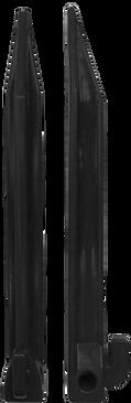 NET PLASTIC PEGS - PACK OF 12 (18.5cm)