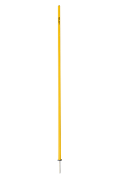 AGILITY POLE WITH SPIKE YELLOW