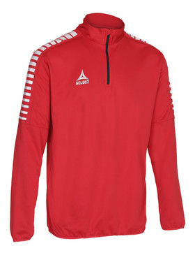 ARGENTINA 1/4 ZIP JACKET - RED [From: $38.50]