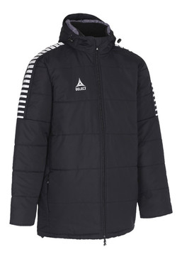 ARGENTINA COACHES PADDED JACKET - BLACK [From: $84.00]