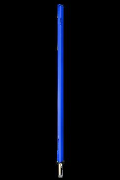 AGILITY POLE WITH SPIKE BLUE