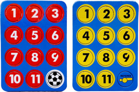 COACHES MAGNETIC FLAT NUMBER PACK [From: $4.50]