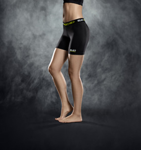 WOMENS COMPRESSION SHORT BLACK [From: $45.00]