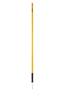AGILITY POLE SPIKE AND SPRING YELLOW