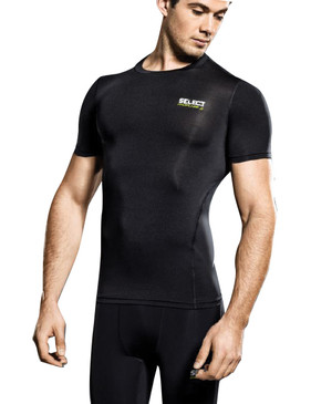COMPRESSION JERSEY S/S BLACK [From: $54.00]