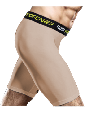COMPRESSION SHORT BEIGE