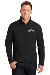 Men's Core Soft Shell Jacket (Black)