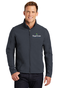 Men's Core Soft Shell Jacket (Battleship Grey)