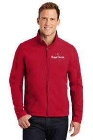 Men's Core Soft Shell Jacket (Red)