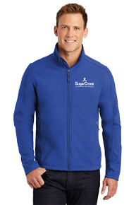 Men's Core Soft Shell Jacket (Royal)