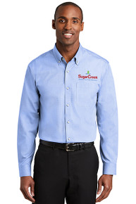 Red House® Nailhead Non-Iron Shirt (Blue Pearl)