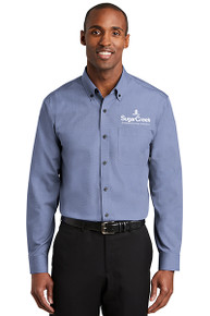 Red House® Nailhead Non-Iron Shirt (Navy)