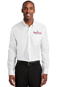 Red House® Nailhead Non-Iron Shirt (White)