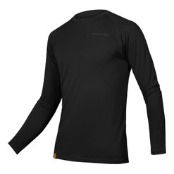 Endura 2020 BaaBaa Blend Long Sleeve Baselayer (BLACK)