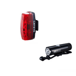 CatEye 2020 Volt 80 XC Front And Rapid Micro Rear USB Rechargeable Light Set