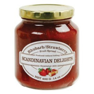 Strawberry Rhubarb Fruit Spread - Scandinavian Delights
