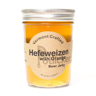 Hefeweizen with Orange Beer Jelly