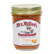 Peach Jam (sugarless) by Mrs. Miller's