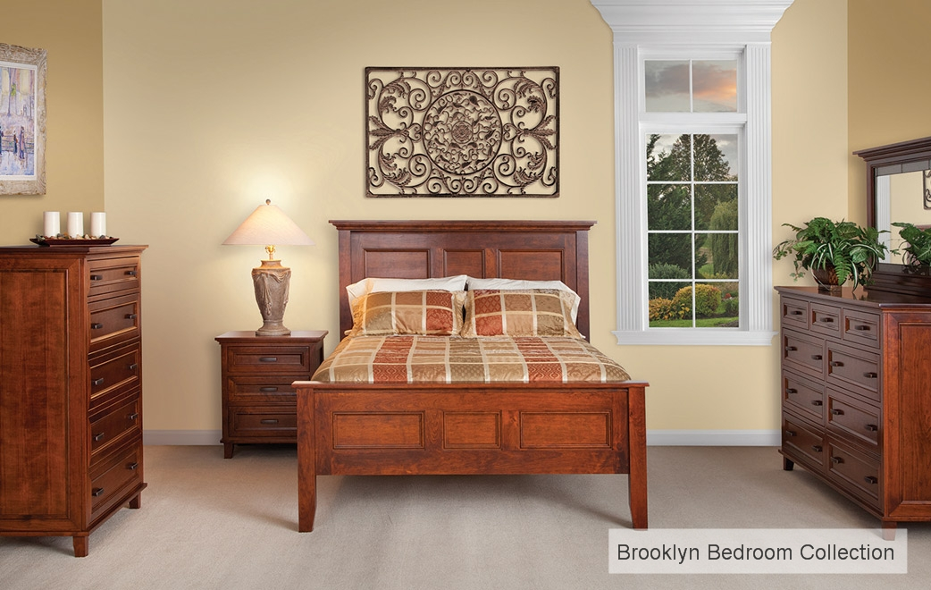 Amish Handcrafted Brooklyn Bedroom Collection
