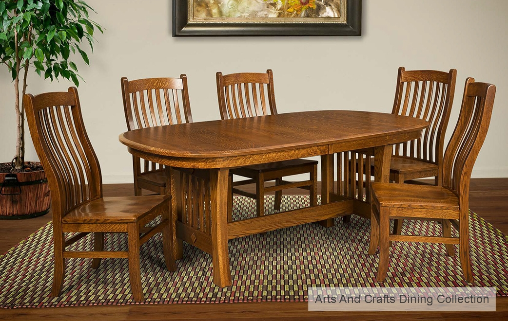 Arts & Crafts Dining Collection