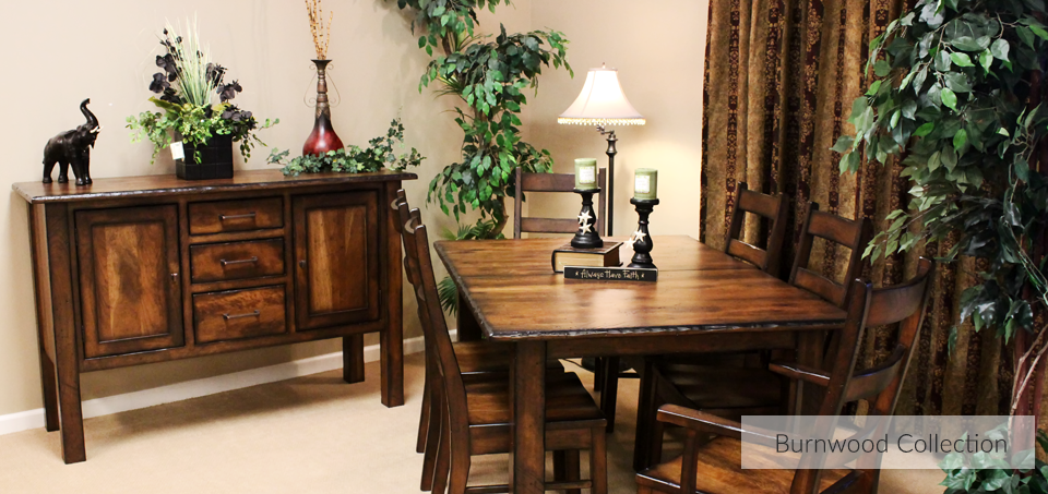 Burnwood Dining Collection