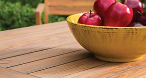 Antiqued Teak Outdoor Tables