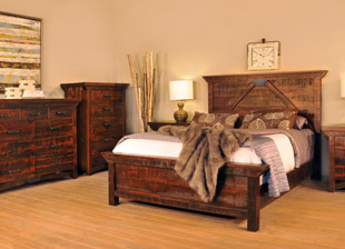 Rustic Carlisle Bedroom Collection