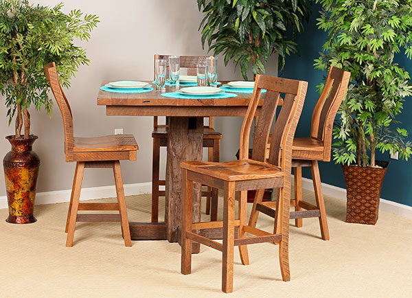 Barnwood Counter Dining Collection
