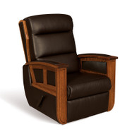 Amish Handcrafted Hampton Recliner