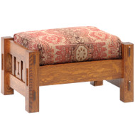 Amish Handcrafted 2000 Mission Morris Ottoman