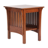 Amish Handcrafted 1800 Mission End Table