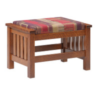 Amish Handcrafted 1800 Mission Ottoman