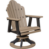 Cozi Back Swivel Rocker Dining Chair