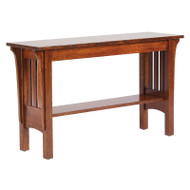 Amish Handcrafted 1800 Mission Sofa Table