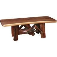 Amish Handcrafted Root Base Coffee Table