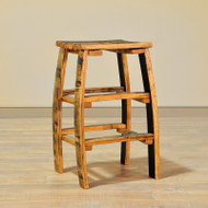 Amish Handcrafted Barrel Stool