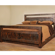 Amish Handcrafted Timber Bed With Drawers