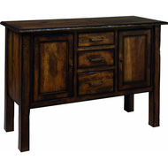 Amish Handcrafted Burnwood Buffet