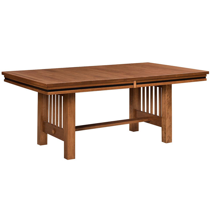 Pleasant Amish Handcrafted Richmond Dining Table Southern Outdoor Home Interior And Landscaping Ologienasavecom