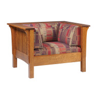 Hardwood 1800 Mission Chair | Southern Outdoor Living in Kentucky