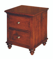Amish Handcrafted Duchess #924 Two Drawer Nightstand