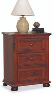 Amish Handcrafted Canyon Creek #1305 Three Drawer Nitestand