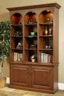 Amish Handcrafted Legacy of Eloquence Bookcase