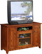 Amish Handcrafted Modern Mission Tv Stands