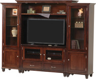 Amish Handcrafted Bourton Bridge Style Entertainment Center