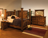 Amish Handcrafted Breckenridge Bedroom Set