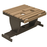 Gliding Settee Table