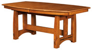 Amish Handcrafted Colebrook Dining Table