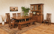Amish Handcrafted Colebrook Dining Set