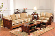 Amish Handcrafted Sleigh Living Room Collection